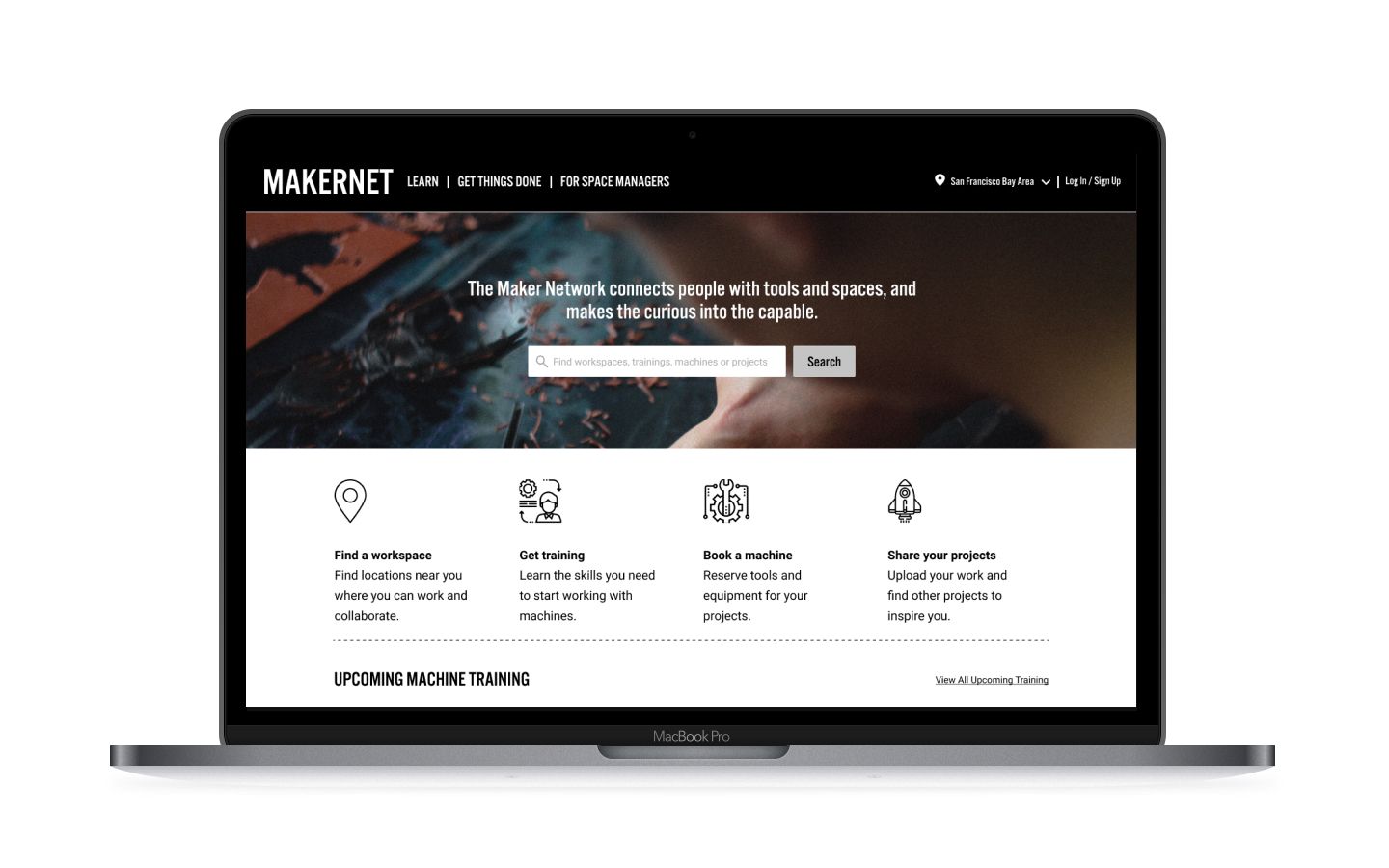 Makernet - Designing a seamless and effective experience for the Maker Community