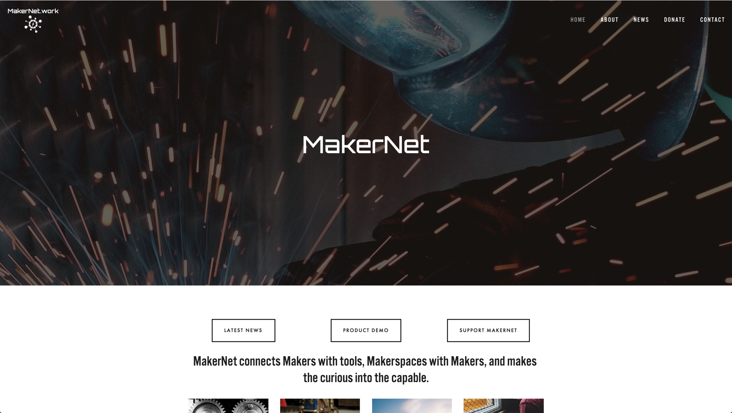Public Website   • No clear flow and lack or direction • Hard to know what Makernet is and what you can do • Excessive and repetitive text site-wide • There is almost no interaction to help users achieve their goals • No access to the private panel of a specific makerspace