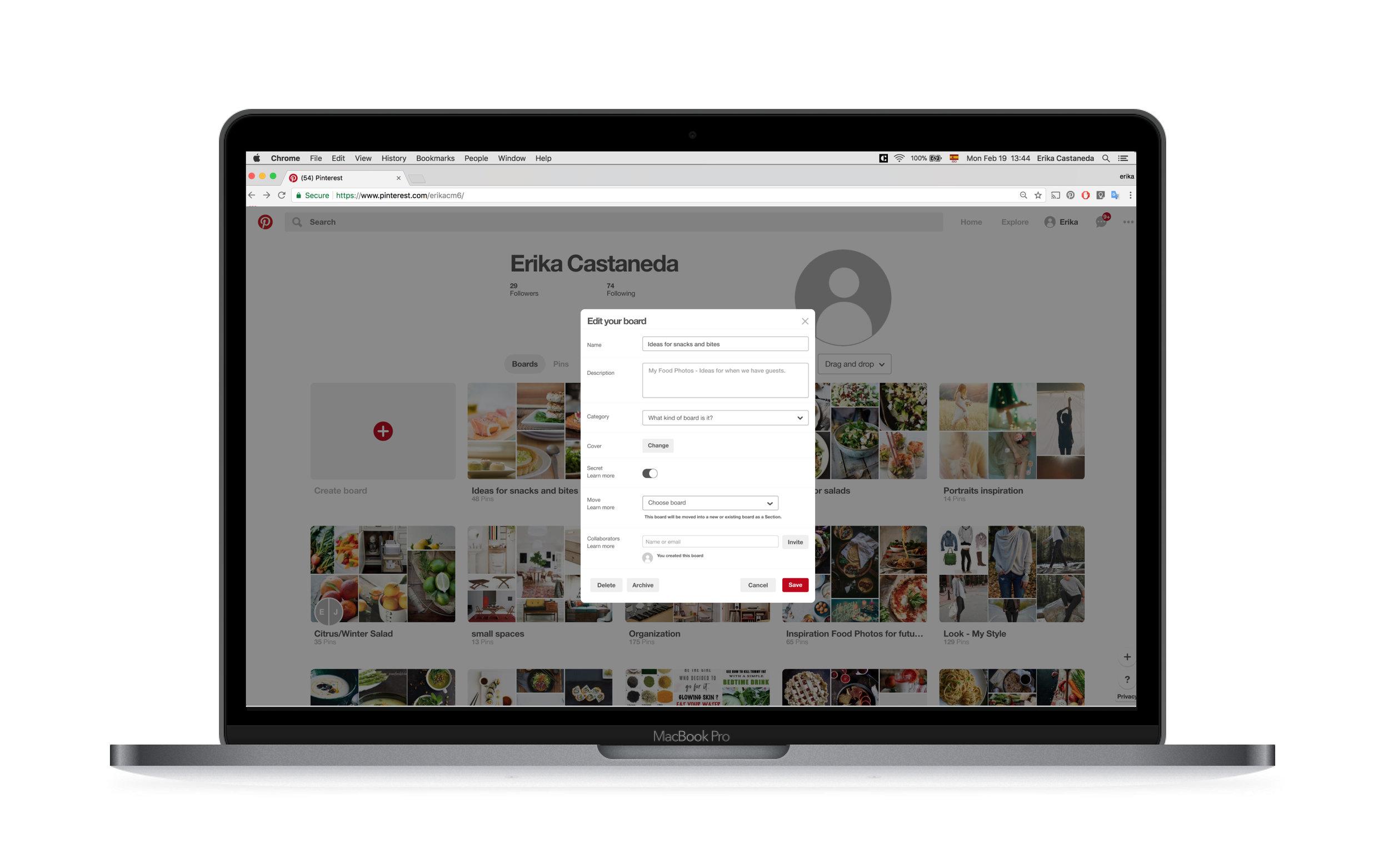 Pinterest - Making it easier to organize boards on Pinterest