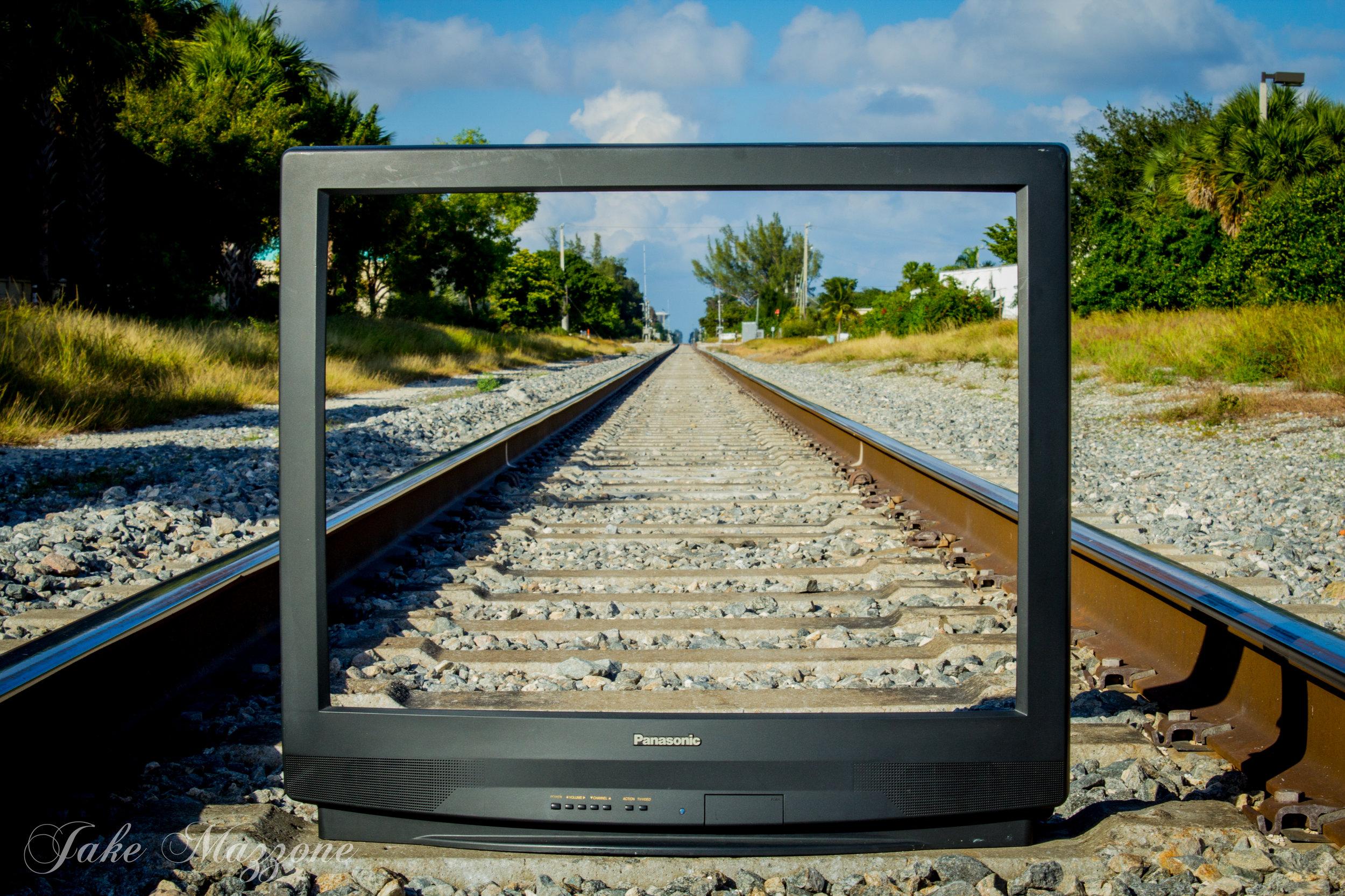 Television Train Photo