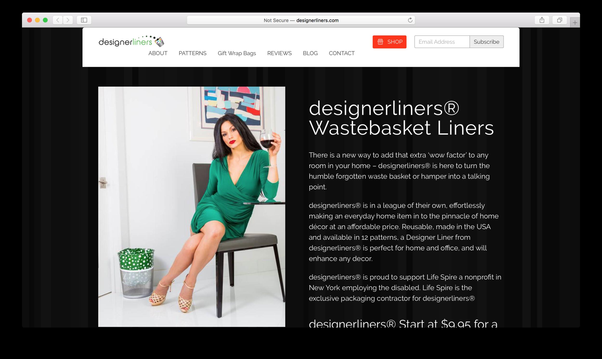 Designer Liners Jake Mazzone