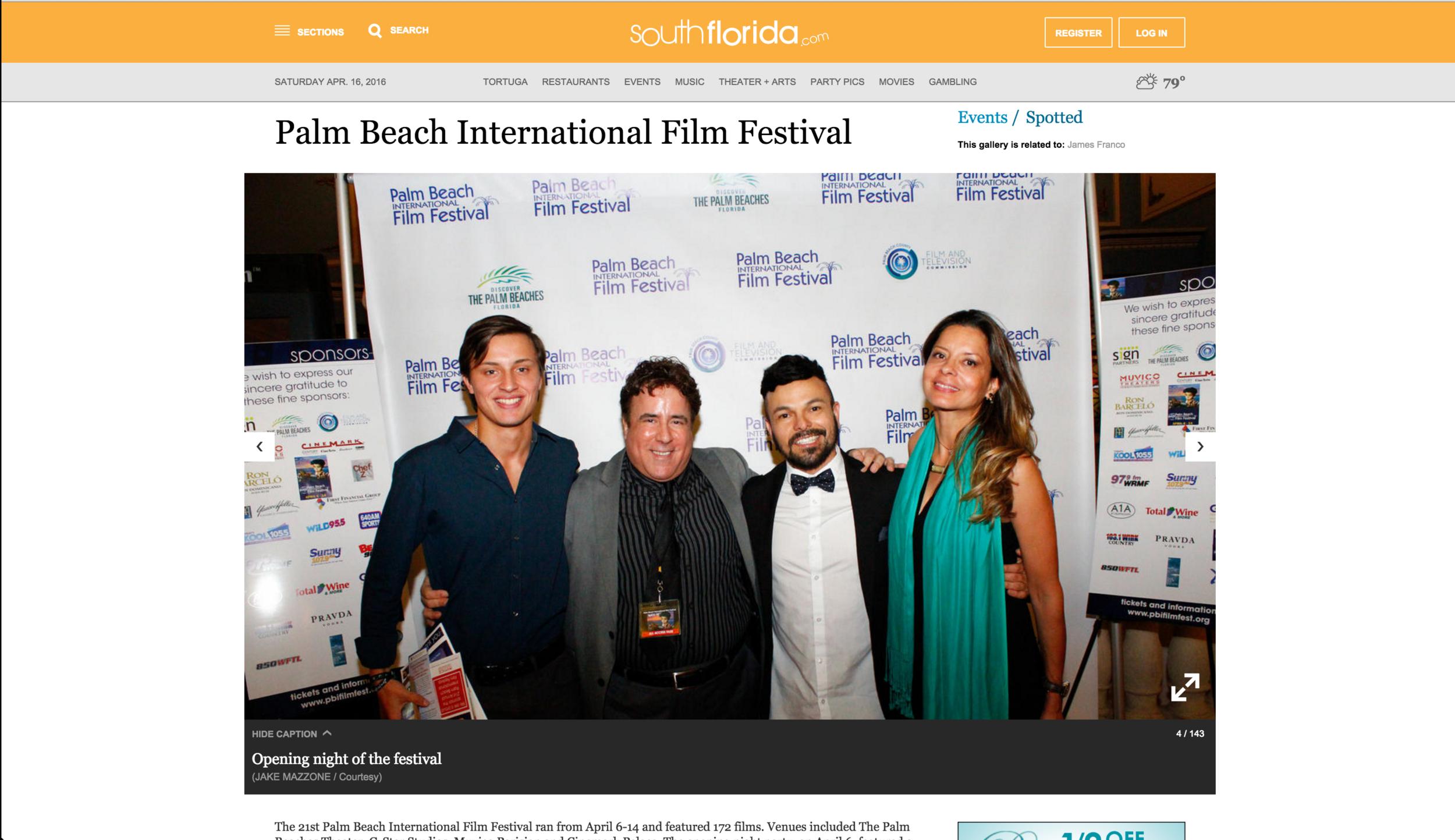 Palm Beach Film Jake Mazzone