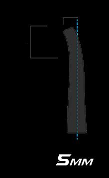 5 mm Curve