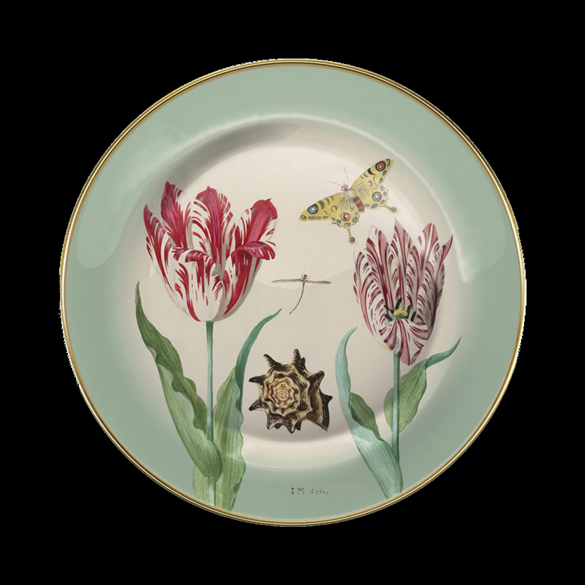Rijksmusum. metalen bord l Tulpen Groen.png
