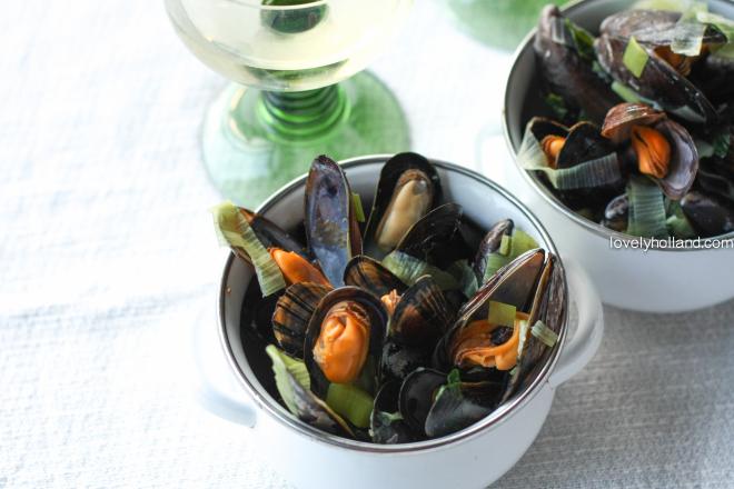 歐洲鮮甜肥美的淡菜,大部分是荷蘭出口的