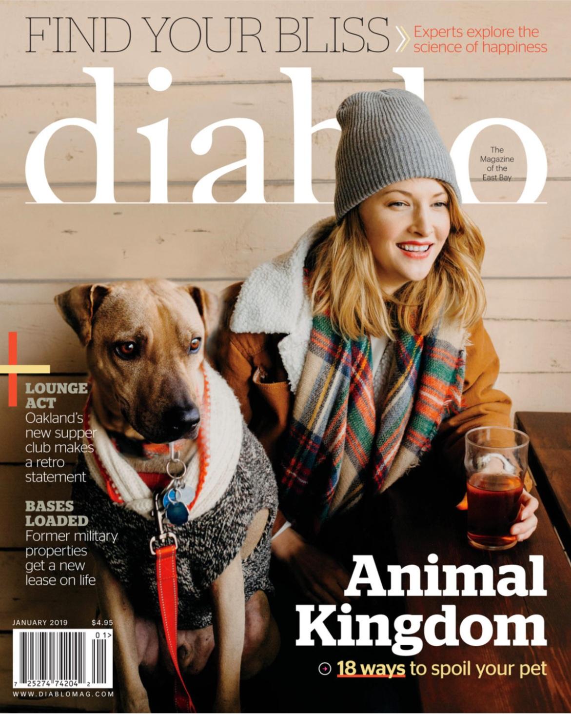 Diablo Magazine December 2018 - First Bite, Albatross Soars.