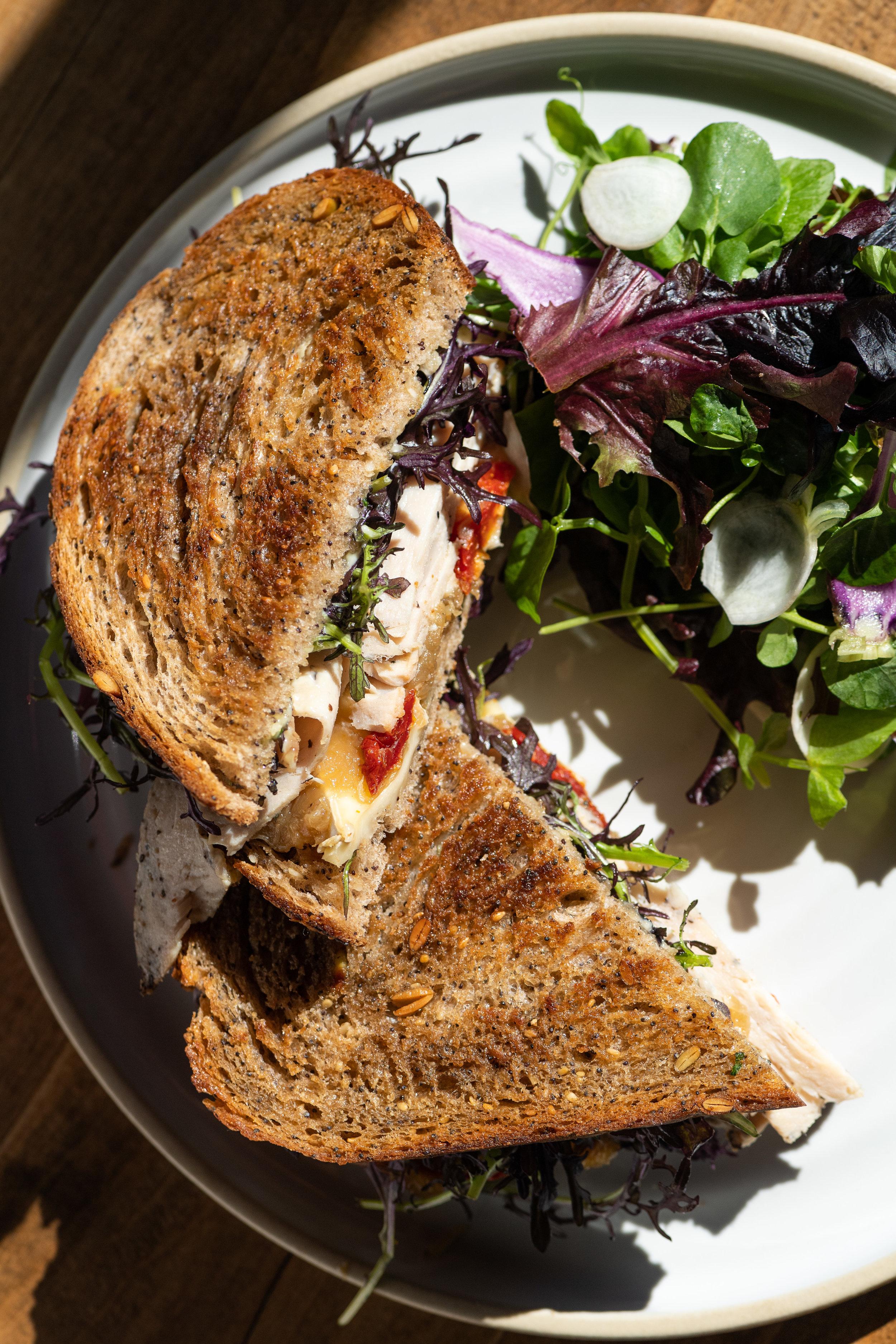 TruffledTurkey Sandwich
