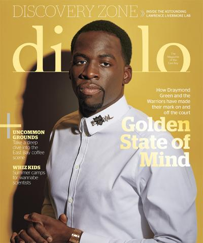 Diablo Magazine April 2019  - Excellence Takes Flight at Albatross Restaurant in Danville