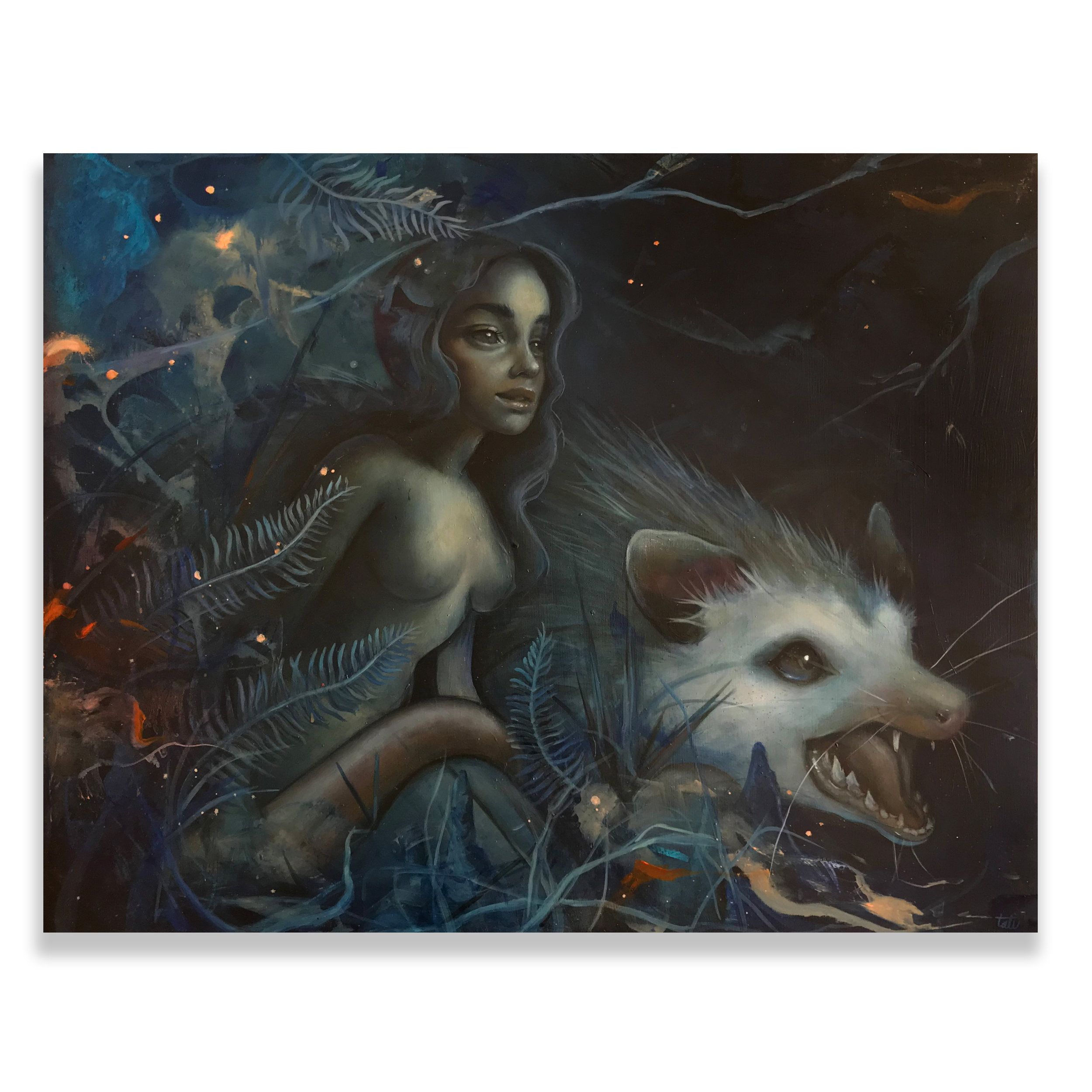 "Tatiana Suarez - ""Swamp night"""