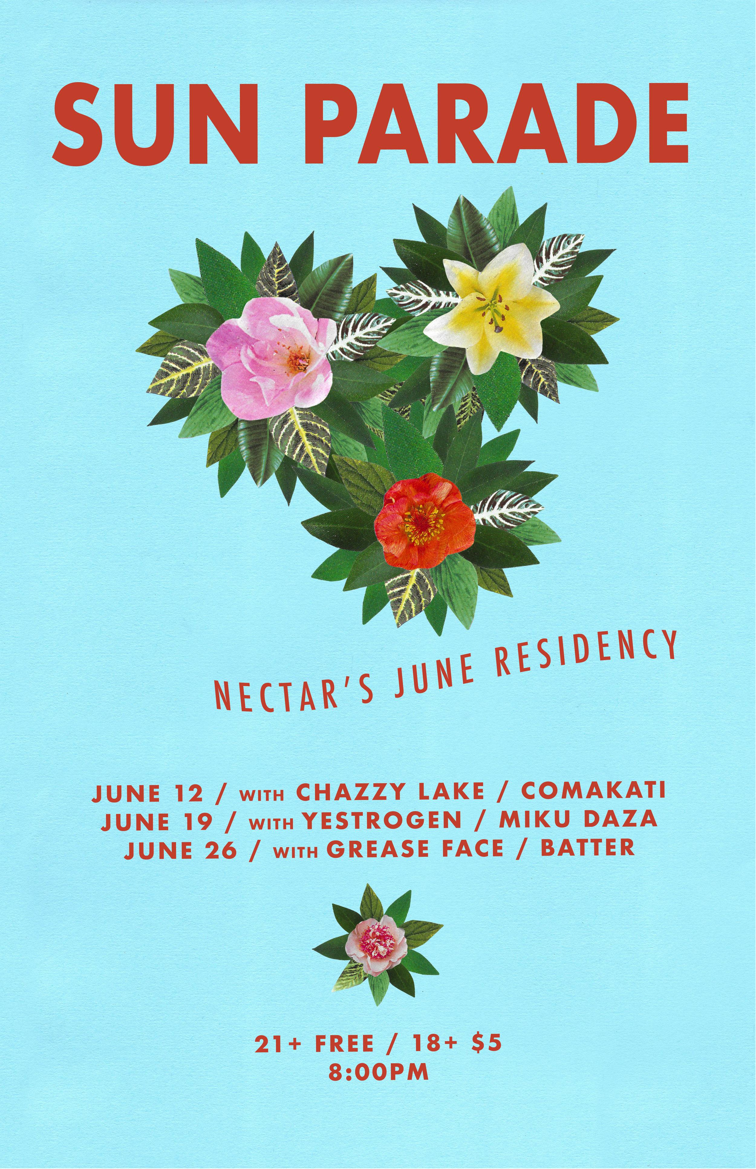 Sun Parade @ Nectar's VT 6/12-26/19