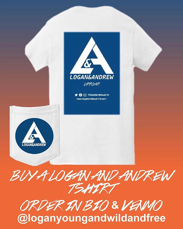 Support our candidates by buying a Logan and Andrew 2019 Campaign T-shirt!! Get yours now by clicking the link in our bio!! #uproar #loganandandrew2019