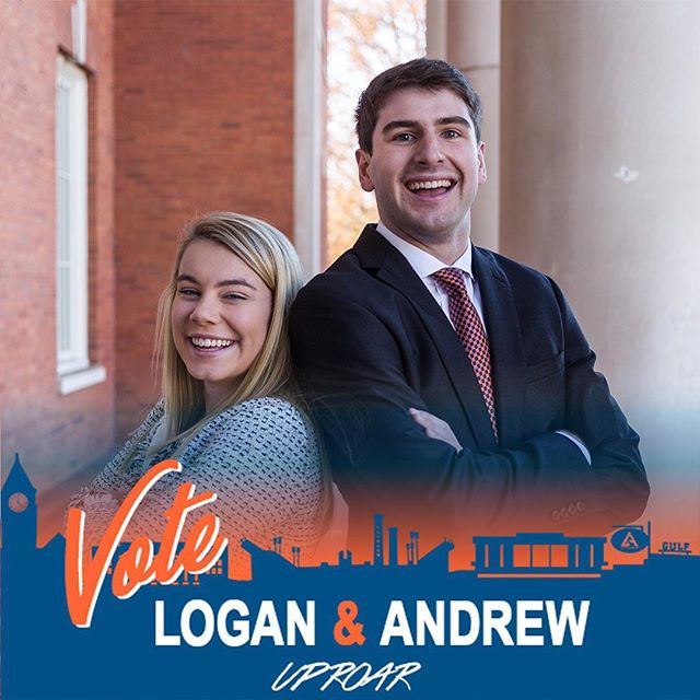The General Election is tomorrow! We're so grateful to have this opportunity, don't forget to vote! #loganandrew2019 #UPROAR