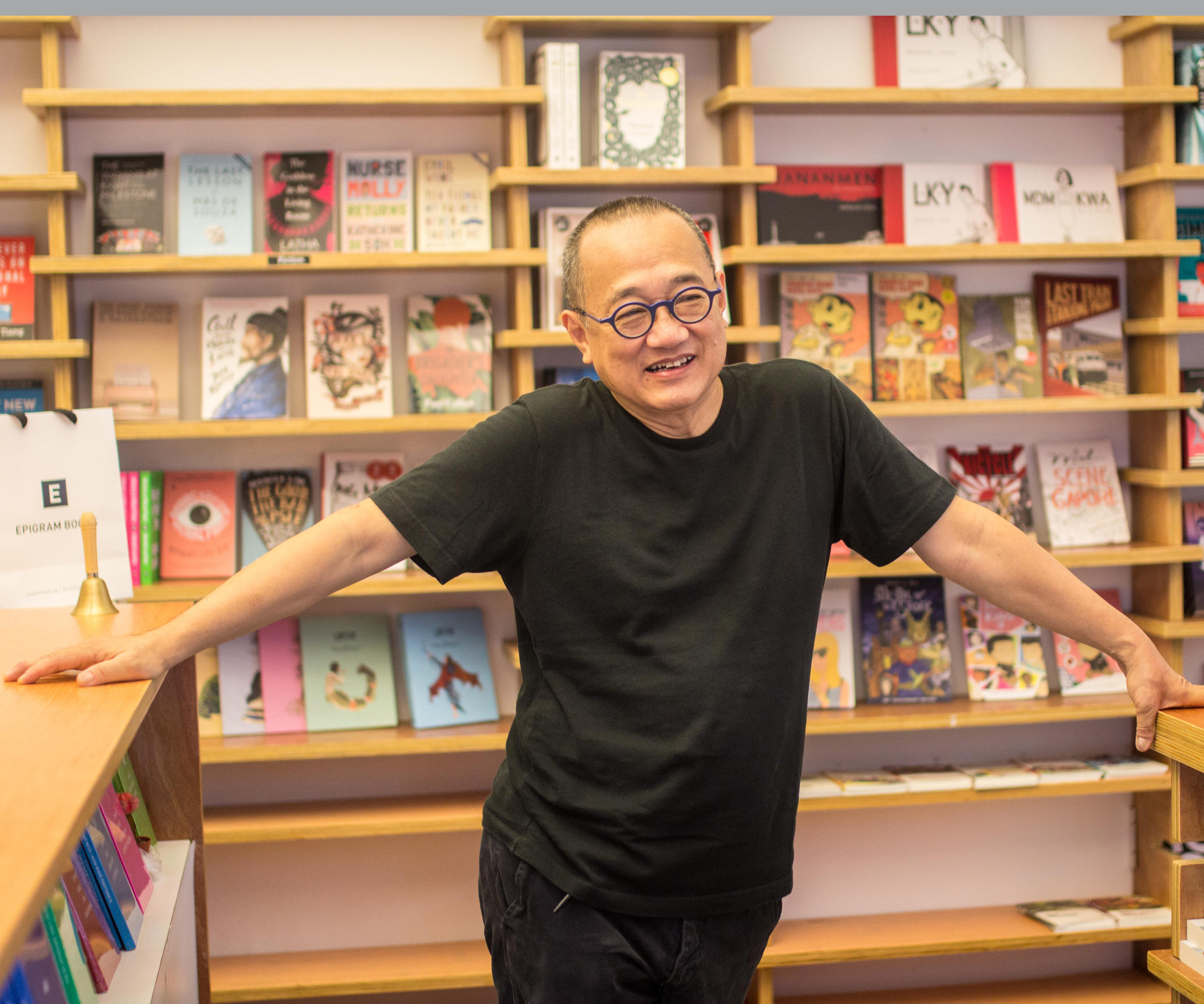 """On Singapore Literature - """"Increasingly Singaporeans are looking to the literary arts as a form of artistic expressions and more of them are looking for a publisher that can help them realise their vision. I started Epigram Books when I sensed this nascent desire. Since then, it's been my pleasure and honour to have published so many first -time authors and to see a flourishing of Singapore literature. We do not yet have an ecosystem that can support full-time authors. It is my hope that that will happen and Epigram Books is committed to the cause."""""""