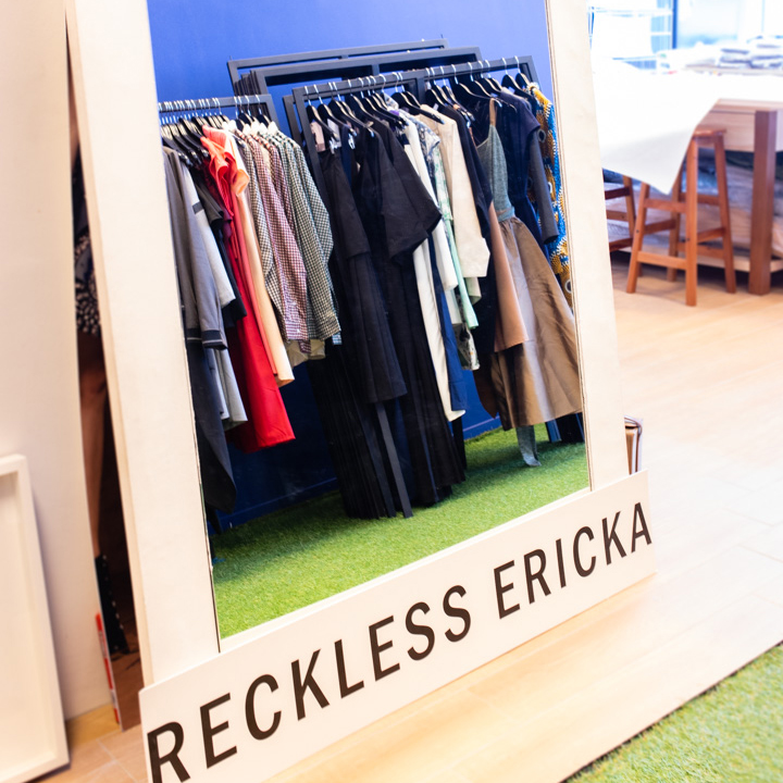 Brand inspiration - Reckless Ericka is recklessly spirited, effectively designed, and responsibly produced.Each Reckless Ericka collection expresses a moment encapsulated by experiences, memories, and objects.I'm mostly inspired by films, architecture, and different mediums of art.