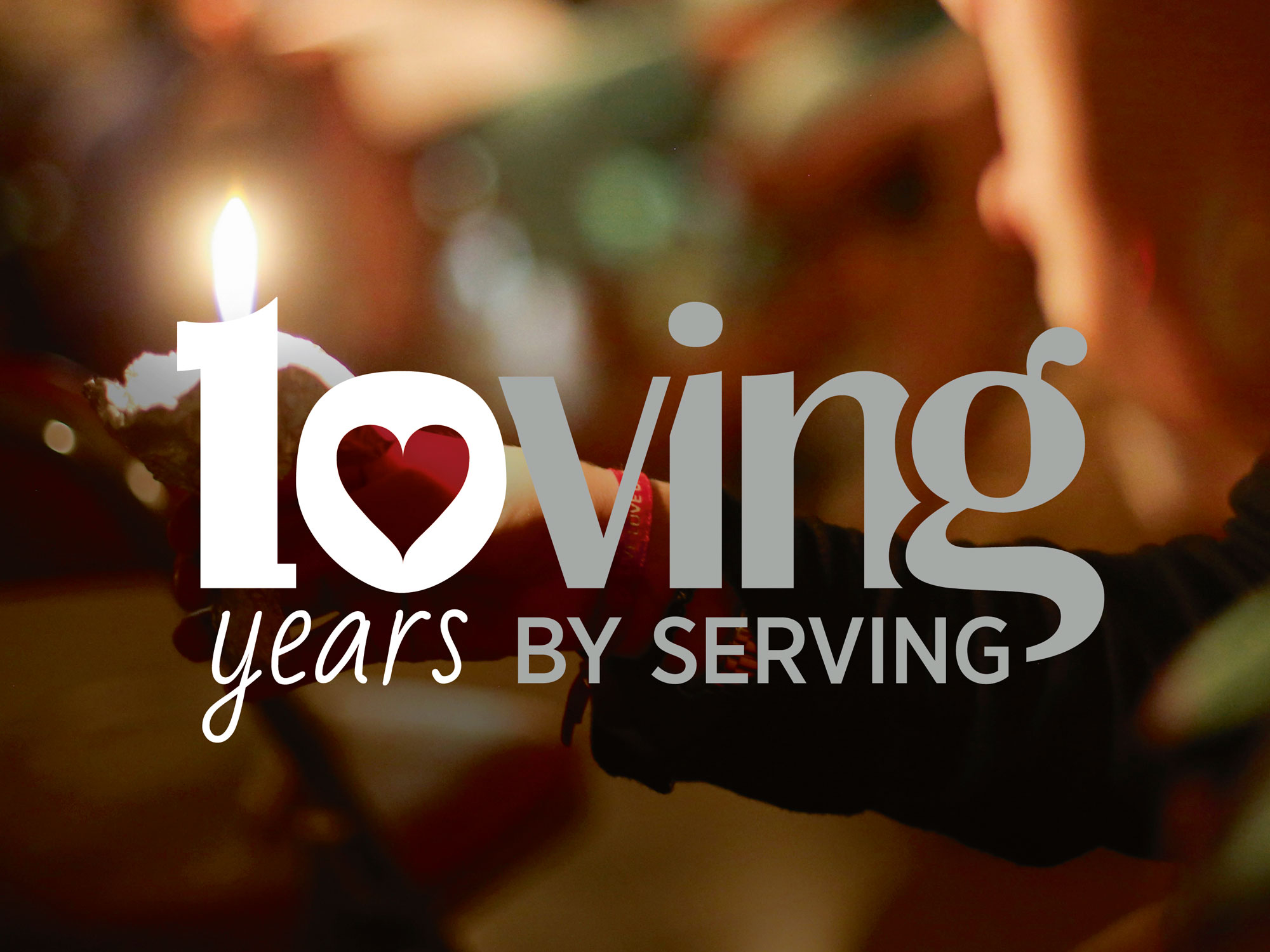 Loving by serving