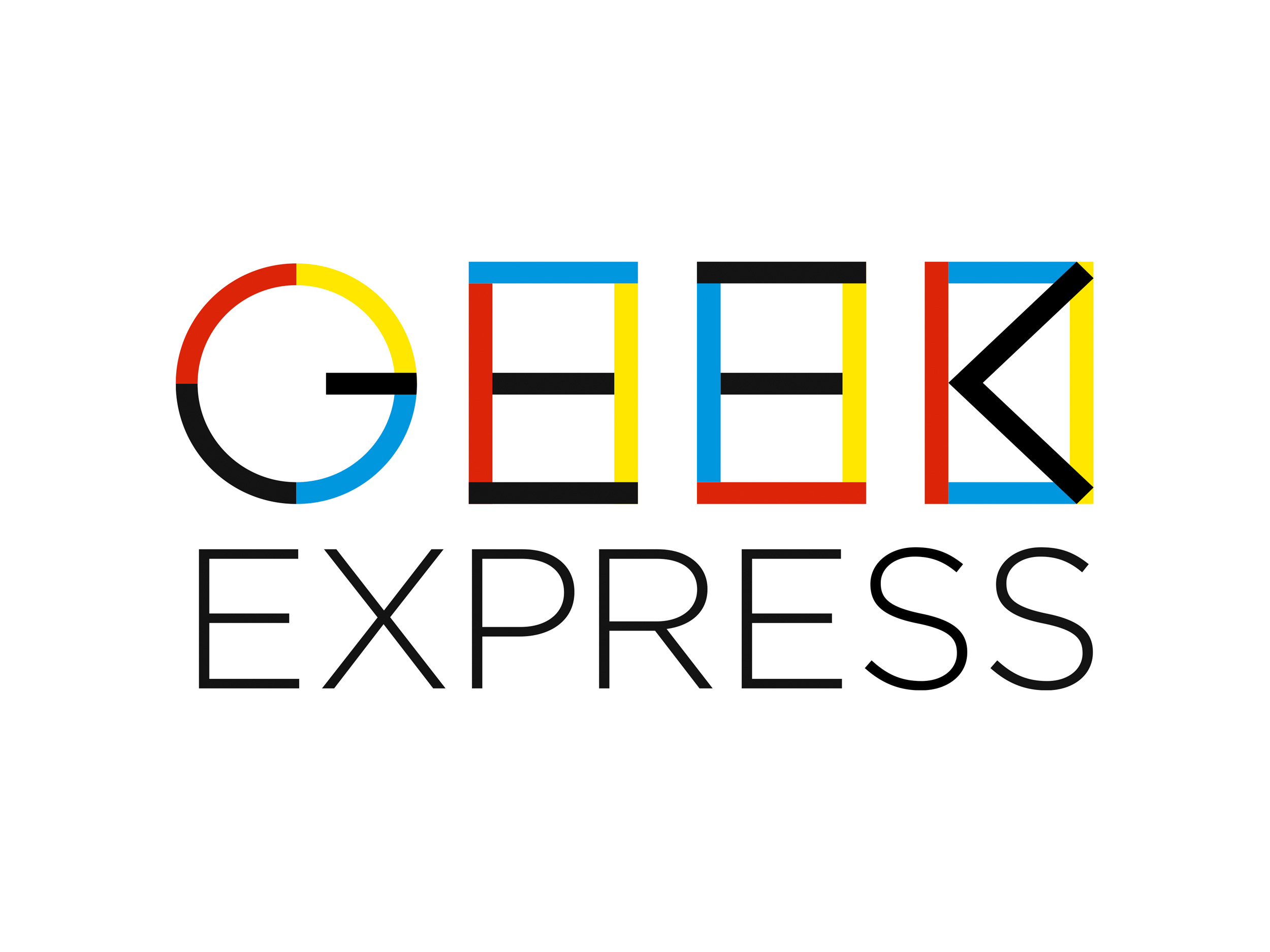 Geek Express | colored logo