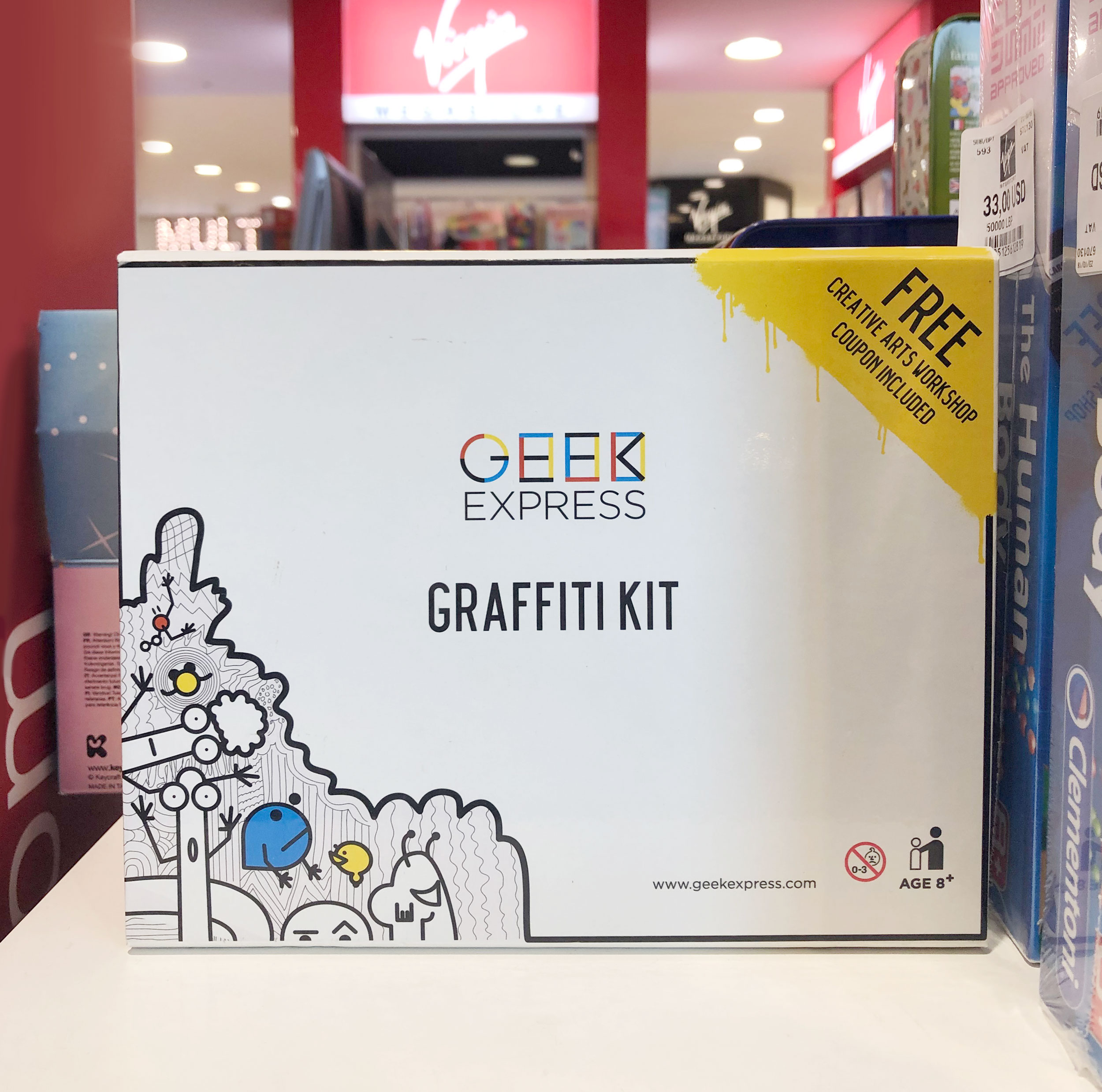 Geek Express Graffiti Kit