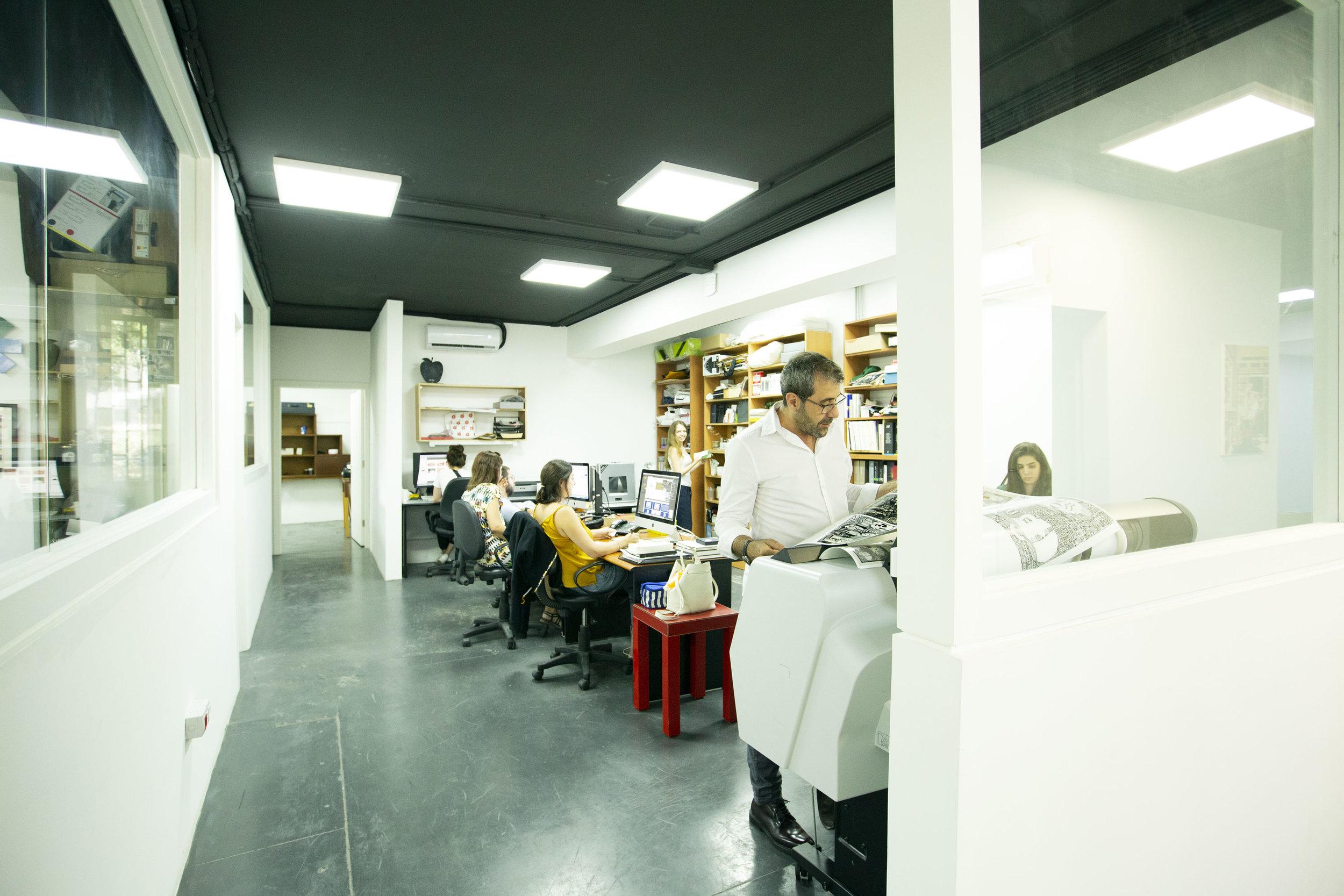 -scope Ateliers's creative team