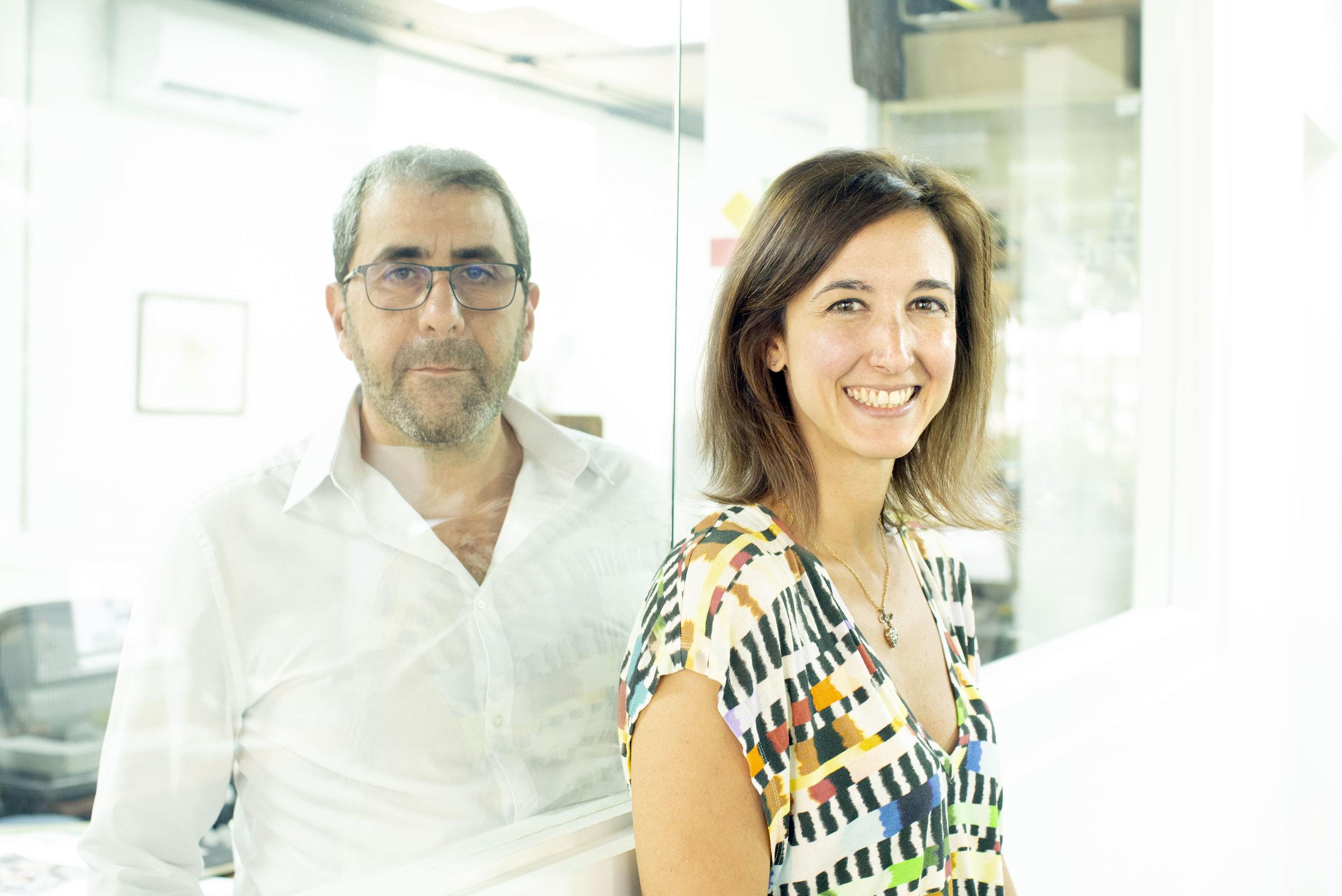 Tania Arwachan and Nadim Zablit
