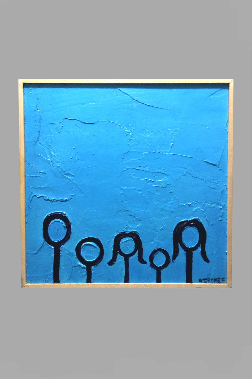 """Family of Five 12""""x12"""" $40/wk"""