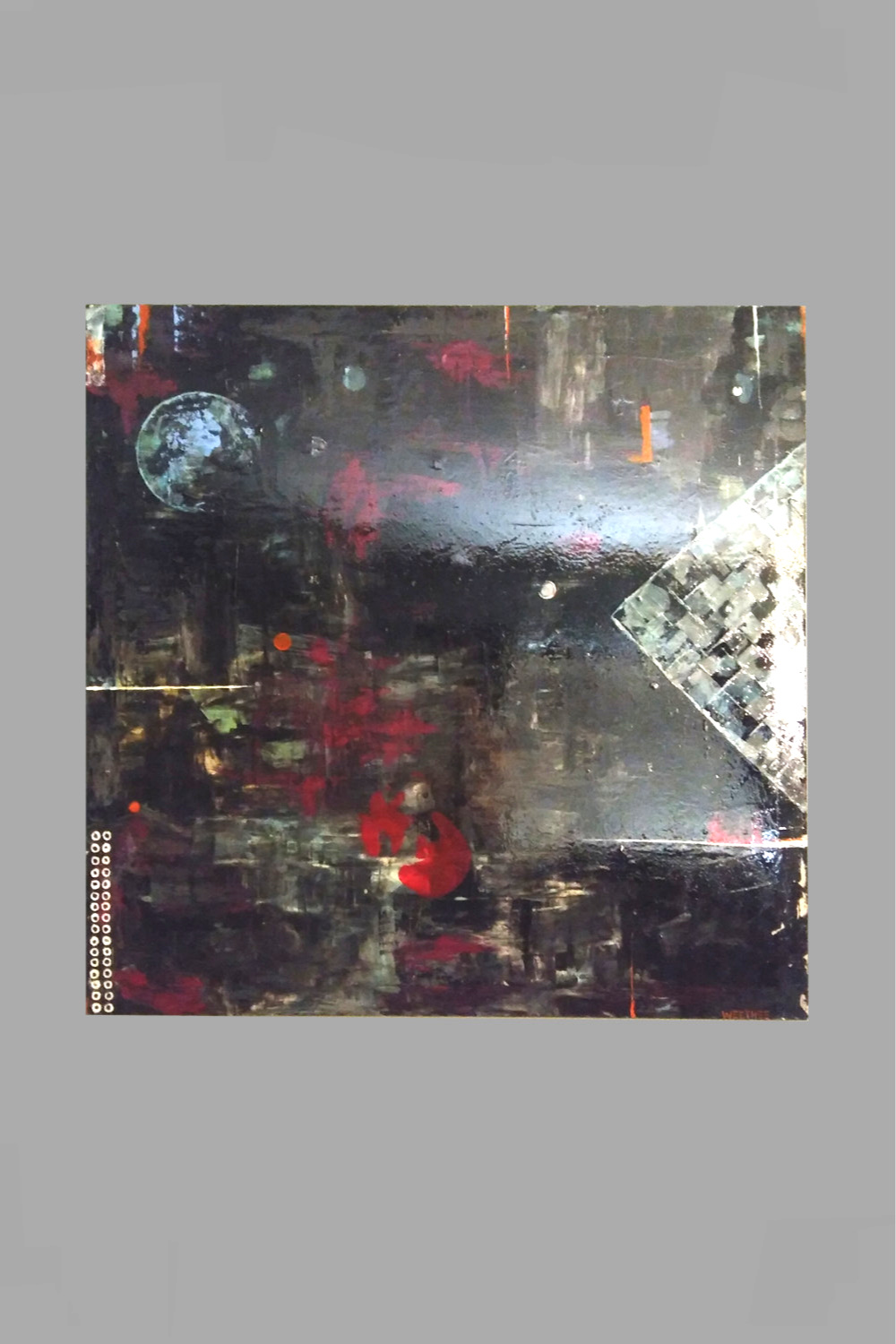 """The View From Mars. 60""""x60"""" $150/wk"""