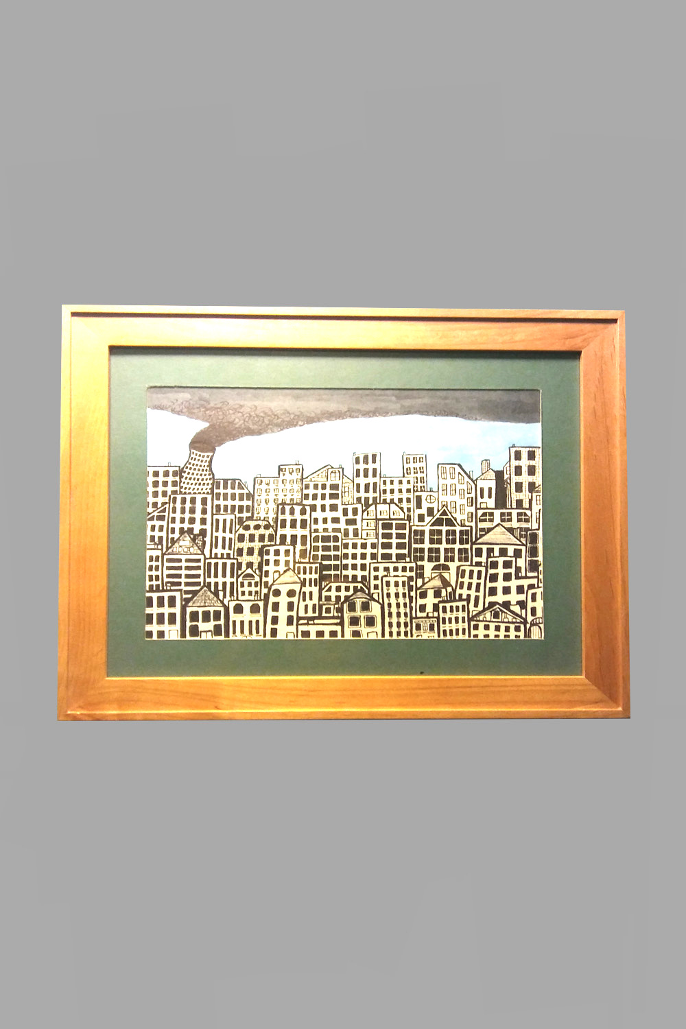 """City Scapes 14""""x12"""" $45/wk"""