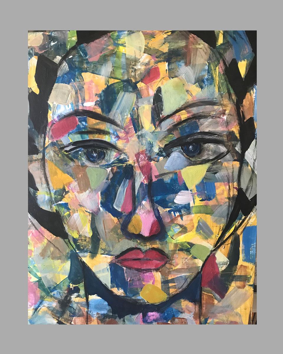 """Close Up 18""""x24"""" $50/wk Artist: Bonnie Gavin"""