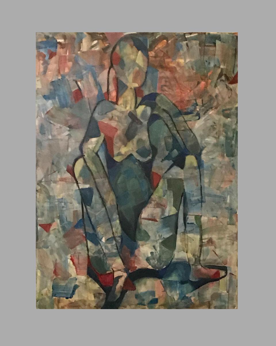 "Pieces 30""x40"" $150/wk Artist: Bonnie Gavin"