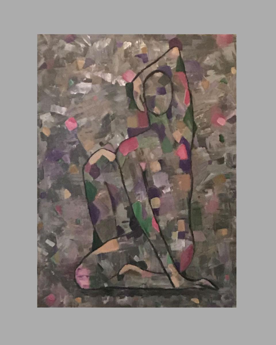 """Repose 30""""x40"""" $150/wk Artist: Bonnie Gavin"""