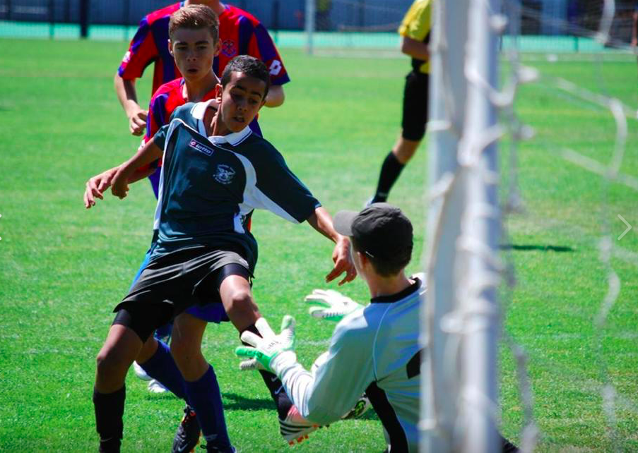 Singh in Action for Onehunga Sports in 2013.