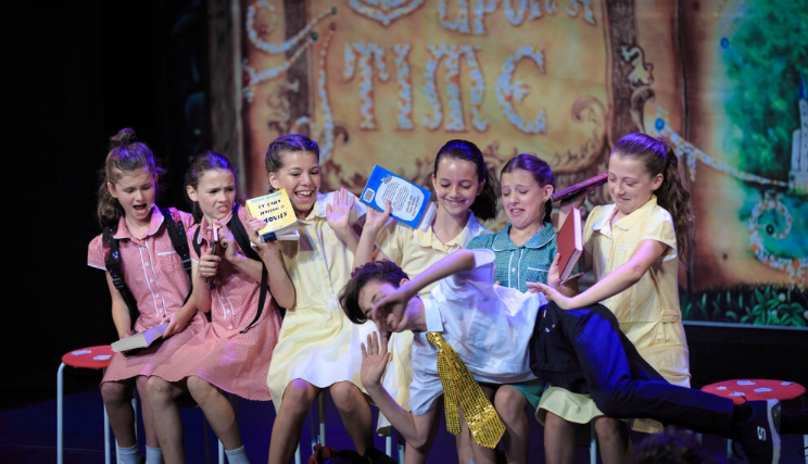 Once Upon a Time Production (Included songs from Beauty & the Beast, Zeuss, Matilda & Shrek), performed July 2018 at The Chelsea Theatre, Kings Rd.