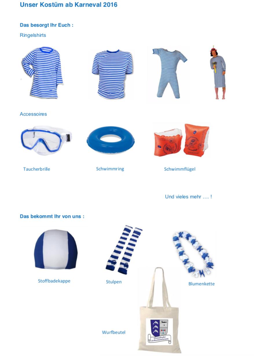 Schwimmer Kostüm -
