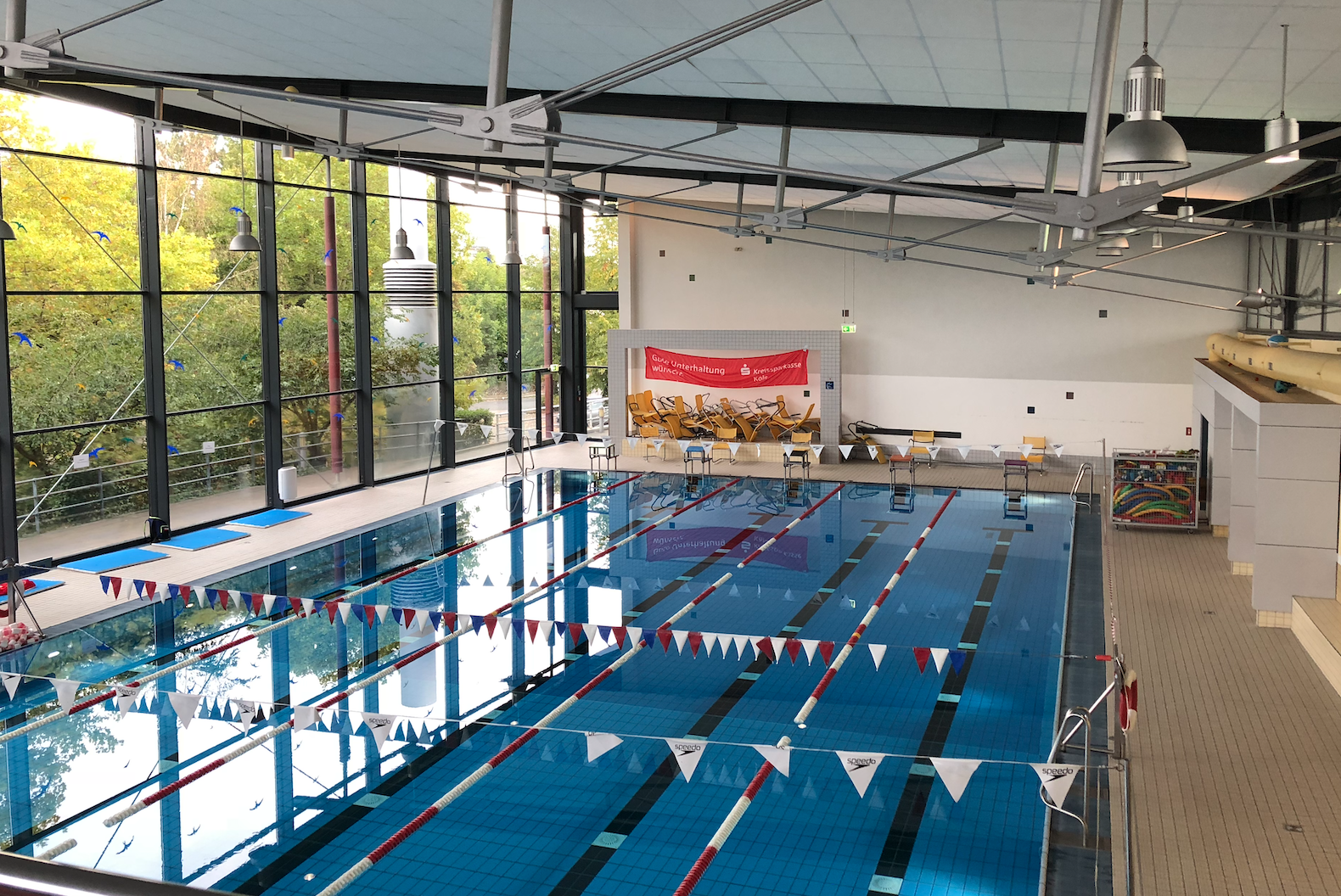 Das Aqua vor Beginn des Wettkampfes 2018.