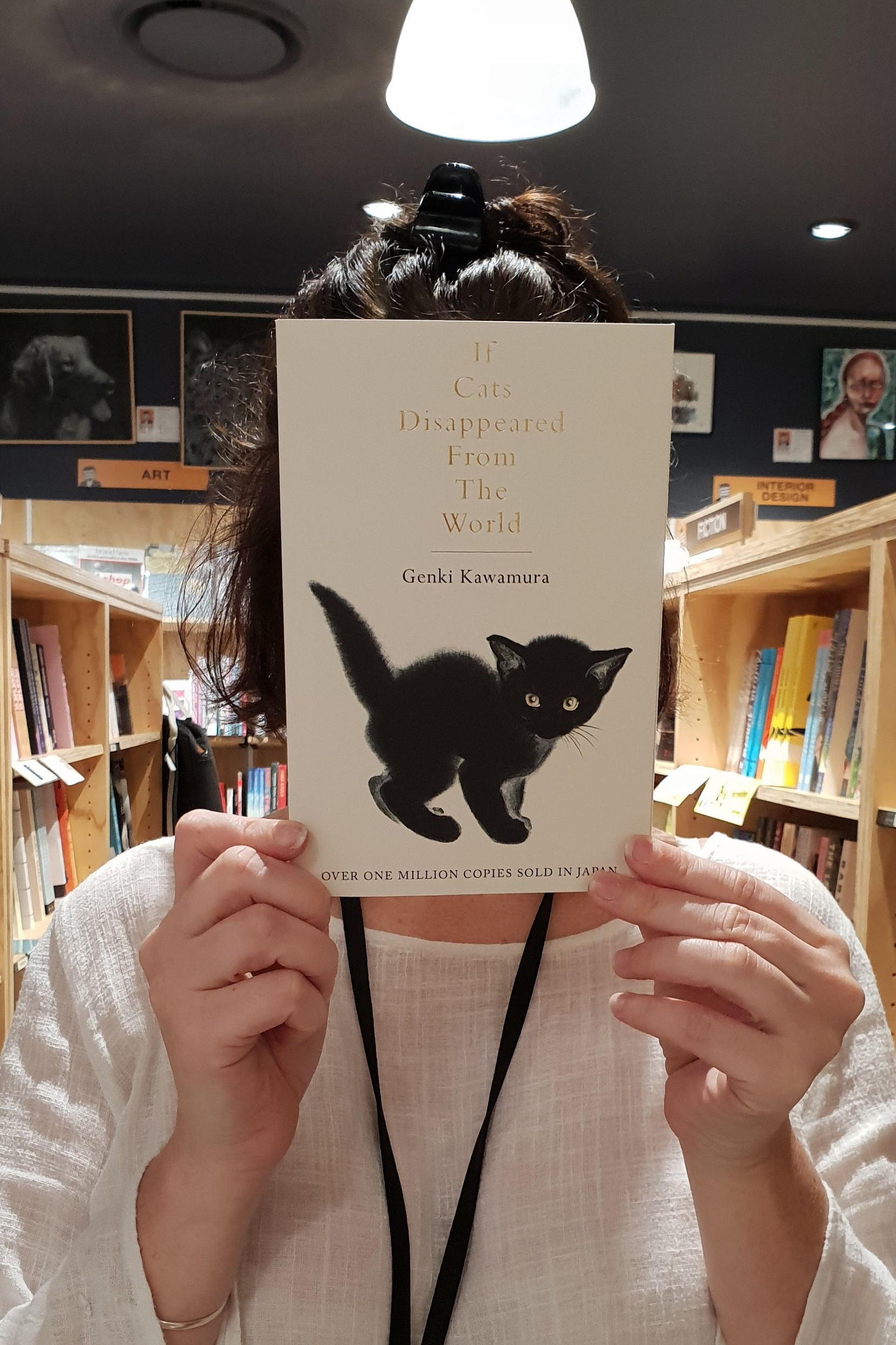 If Cats Disappeared From the World   Genki Kawamura  A short and powerful novel about a man evaluating the meaning of his life. When the narrator finds out he doesn't have much time left, the Devil appears to offer him a deal – one extra day of like for making one thing disappear from the world.  Reviewed by: Gina