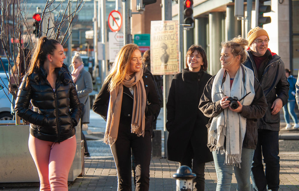 Reasons for Choosing Marino College - + The College is easy to get to on the Bus, Luas & DART+ My classmates are good fun & lovely to be around+ The teachers are very helpful & caring in the sense that they wouldn't move on unless everyone understood the topic+ The courses are a great gateway to amazing career opportunities+ The college has a great atmosphere and if you have a problem there's always someone there to help you