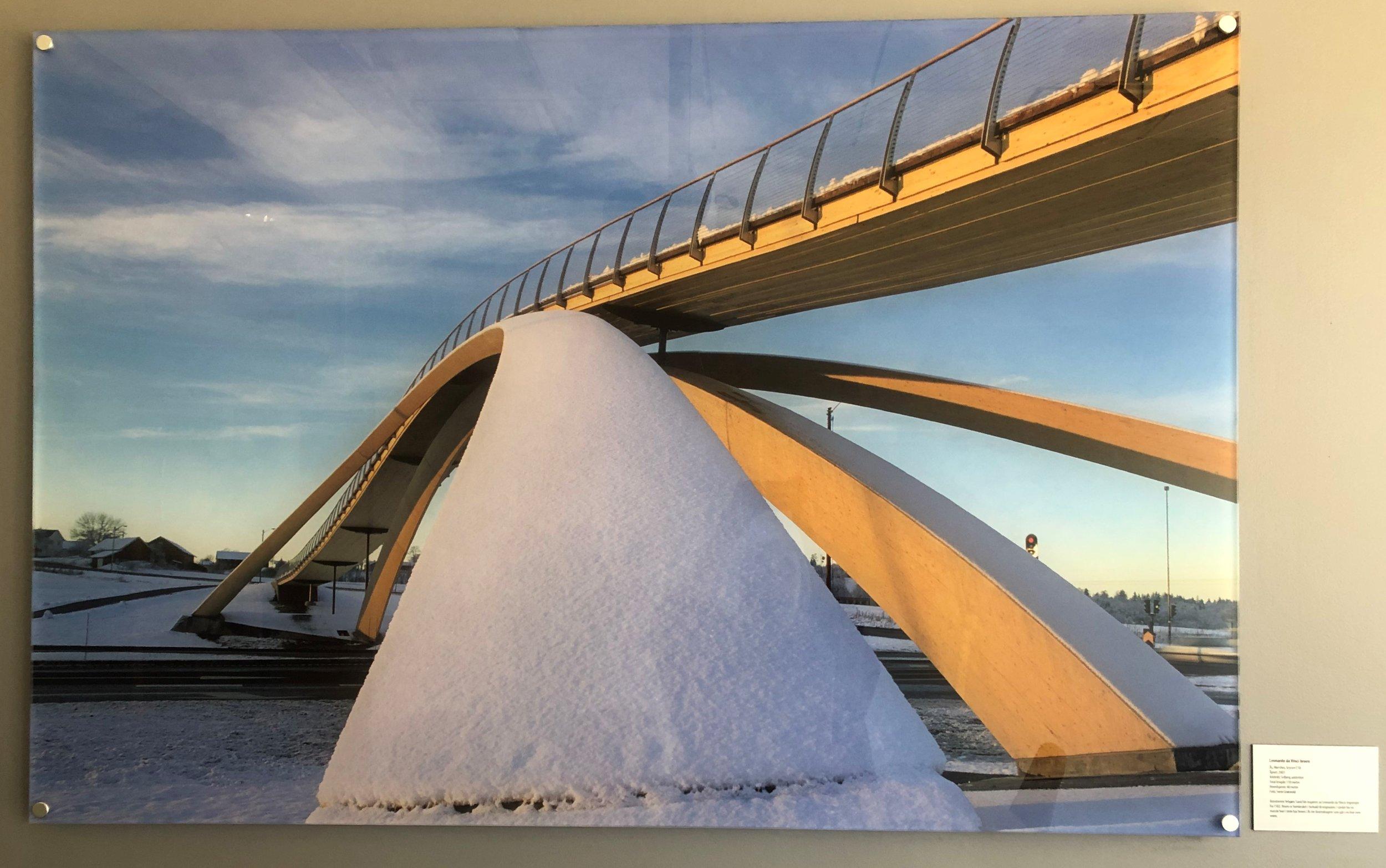 Bilde fra møterommet ''Da Vinci-broen'' i Finansnæringens hus.