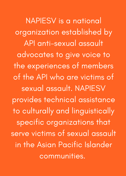 National Organization of Asians & Pacific Islanders Ending Sexual Violence - NAPIESV