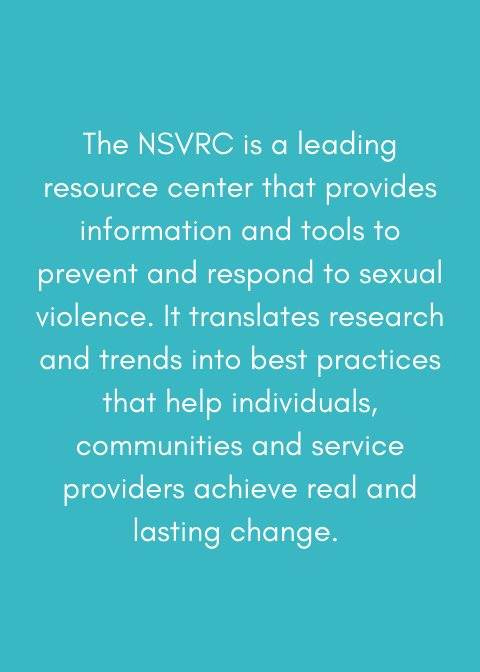 National Sexual Violence Resource Center - NSVRC