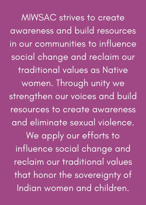 Minnesota Indian Women's Sexual Assault Coalition - MIWSAC
