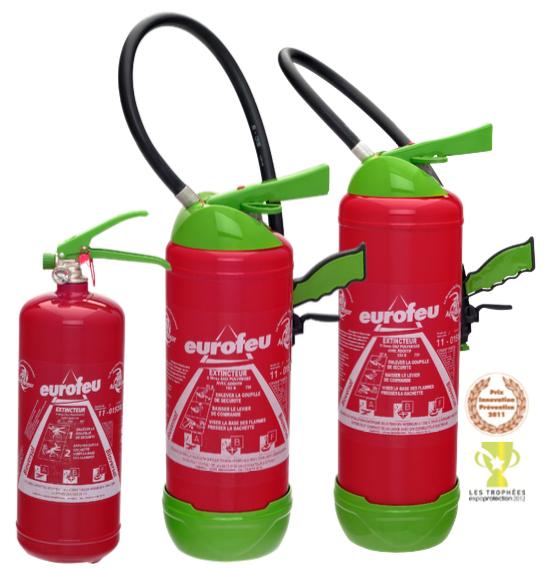 EuroFeu Fire Extinguisher Range
