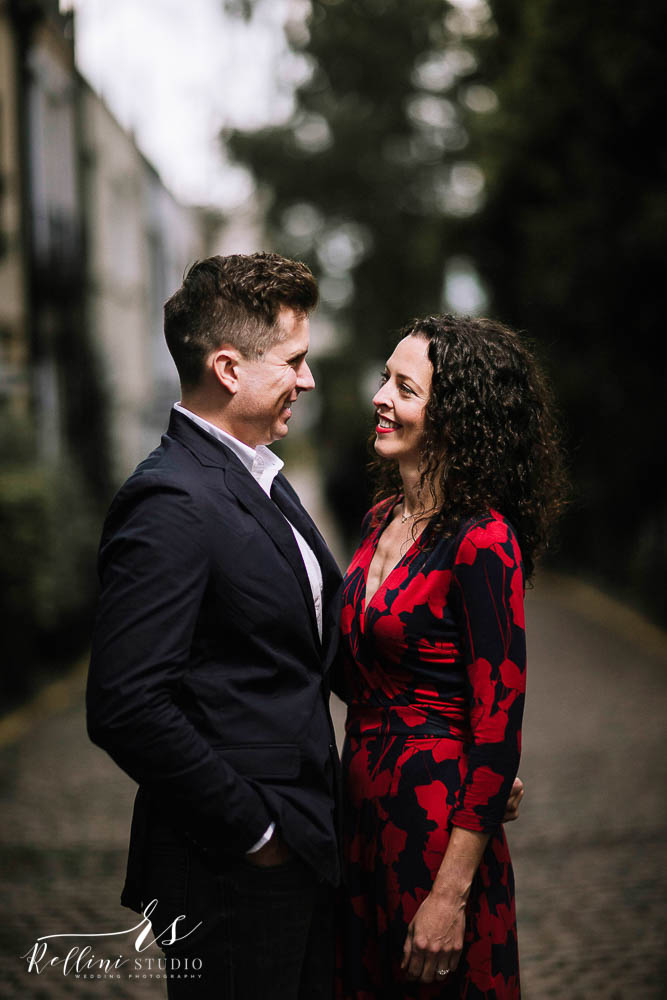 Engagement photo session in London