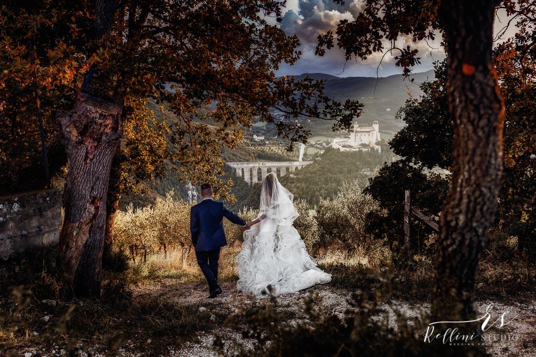 fotografo matrimoni Spoleto