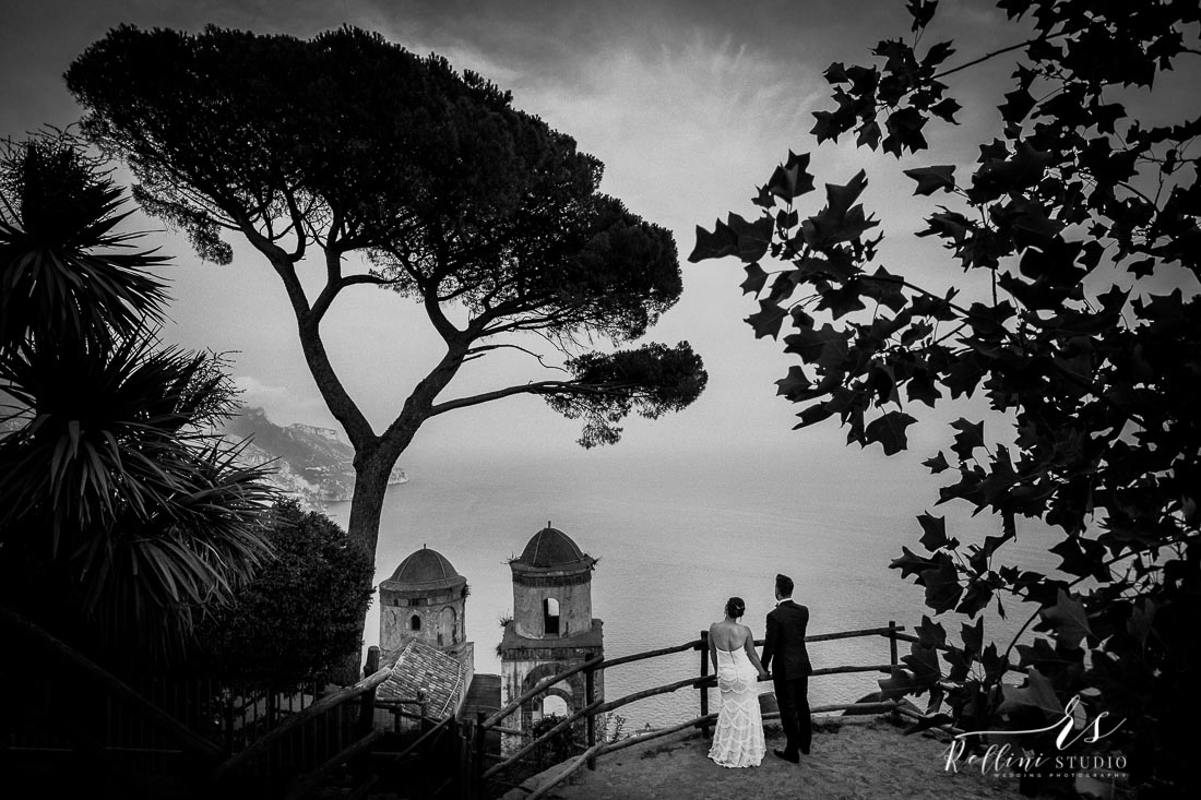 Wedding photographer Villa Rufolo Ravello Amalfi Positano