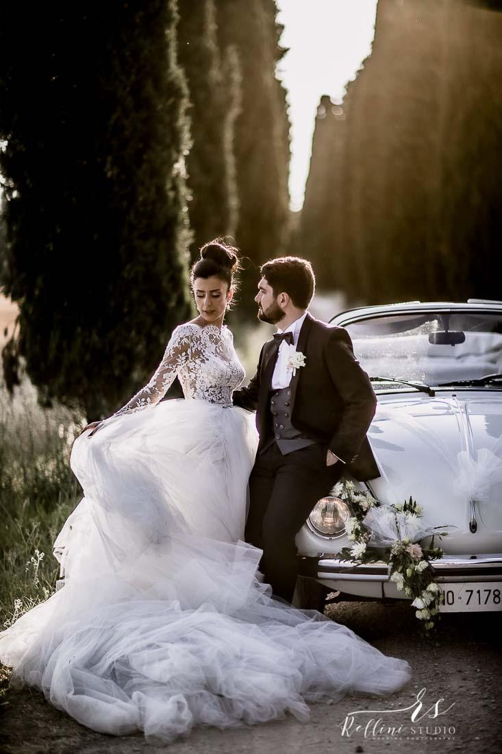 Fotografo matrimonio Umbria castello di Rosciano