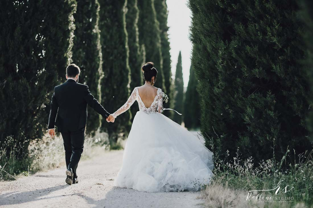 Castello di Rosciano matrimonio fotografo