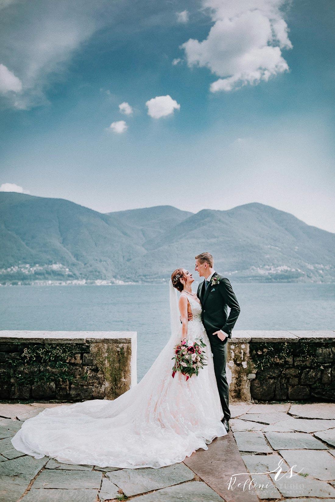 wedding Brissago Island Locarno Switzerland
