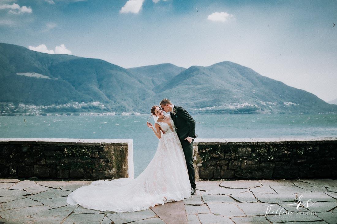 wedding Brissago Island Switzerland wedding photographer