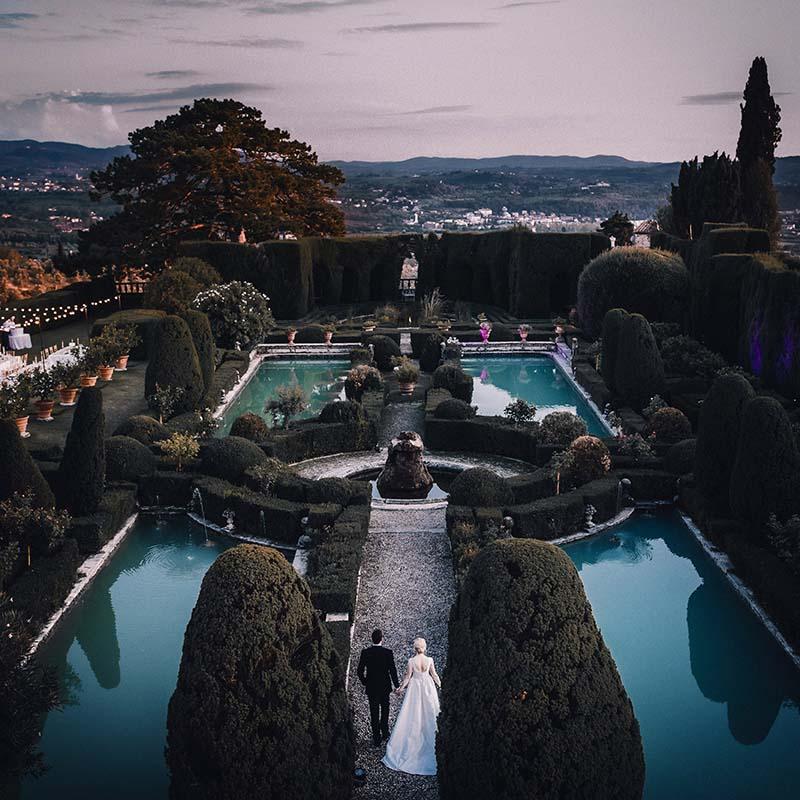 O+L - Villa Gamberaia, Firenze