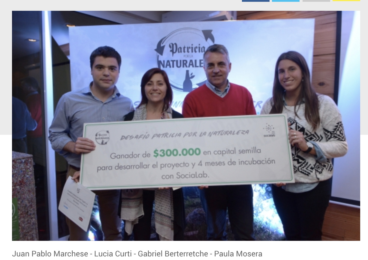 Producción de fertilizante orgánico ganó desafío Patricia -
