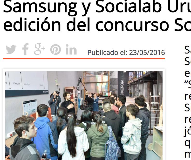 Samsung y Socialab -